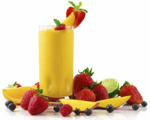 Smoothie buah campuran yougurt dan lain-lain : 200 - 500 kcal bergantung kepada cara penyediaan dan saiz