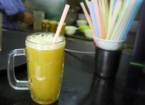 1 x gelas Air Tebu : 110 kcal