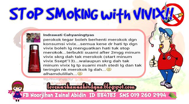 testimoni perokok dan vivix