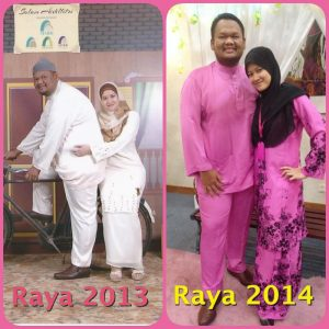Pic sebelum dan selepas