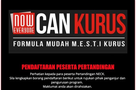 Jom Join NECK- Now Everyone Can Kurus