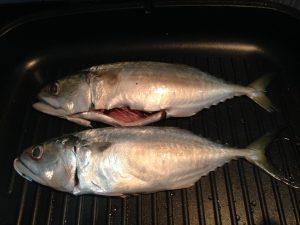 Ikan yang belum di bakar dalam Periuk Ajaib