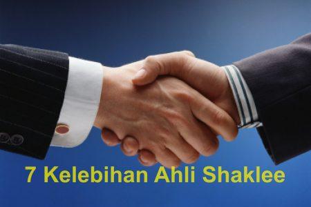 7 Kelebihan Menjadi Ahli Shaklee