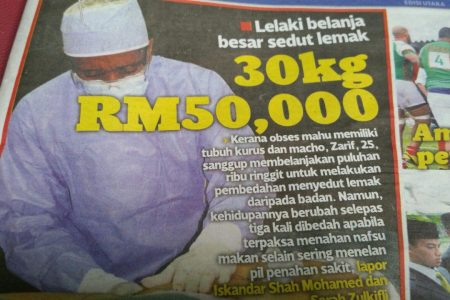 KURUS: Pemuda Belanja RM50 RIBU Untuk Menurunkan 30KG?