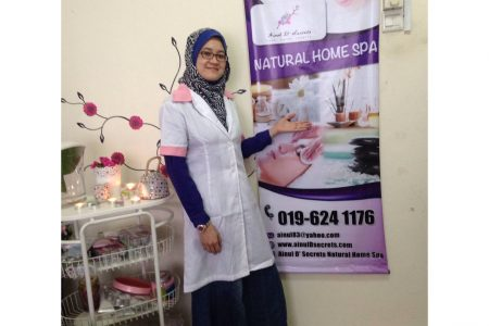 The Walking Beauty Training – Natural Home Spa Muslimah Gombak