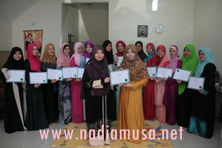 The Walking Beauty Certificate Giving and Berita Harian Interview