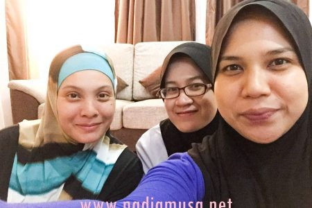 Natural Home Spa Muslimah Gombak : Testimoni BFF Shiemz & Hawe