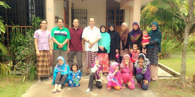 Natural Mobile Spa Muslimah dan Family Day di Sungkei, Perak