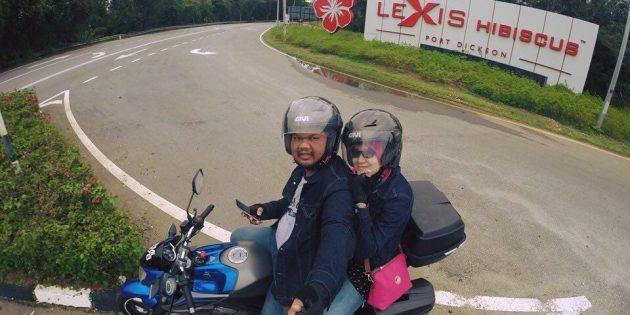 Pengalaman Pertama Ride Motor FZ ke MNRB AFO Lexis Hibiscus Port Dickson 2016