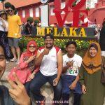 Jalan-Jalan Melaka dengan Family Mertua