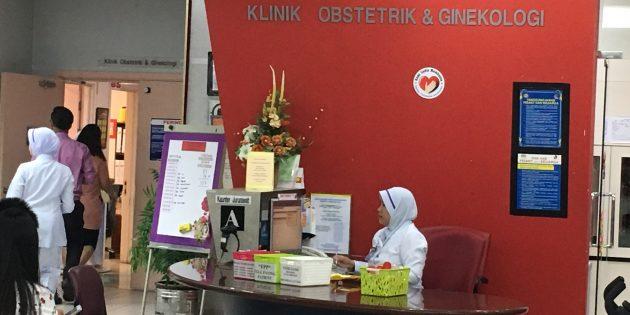 Follow Up Bleeding Check Up Di Hospital Putrajaya