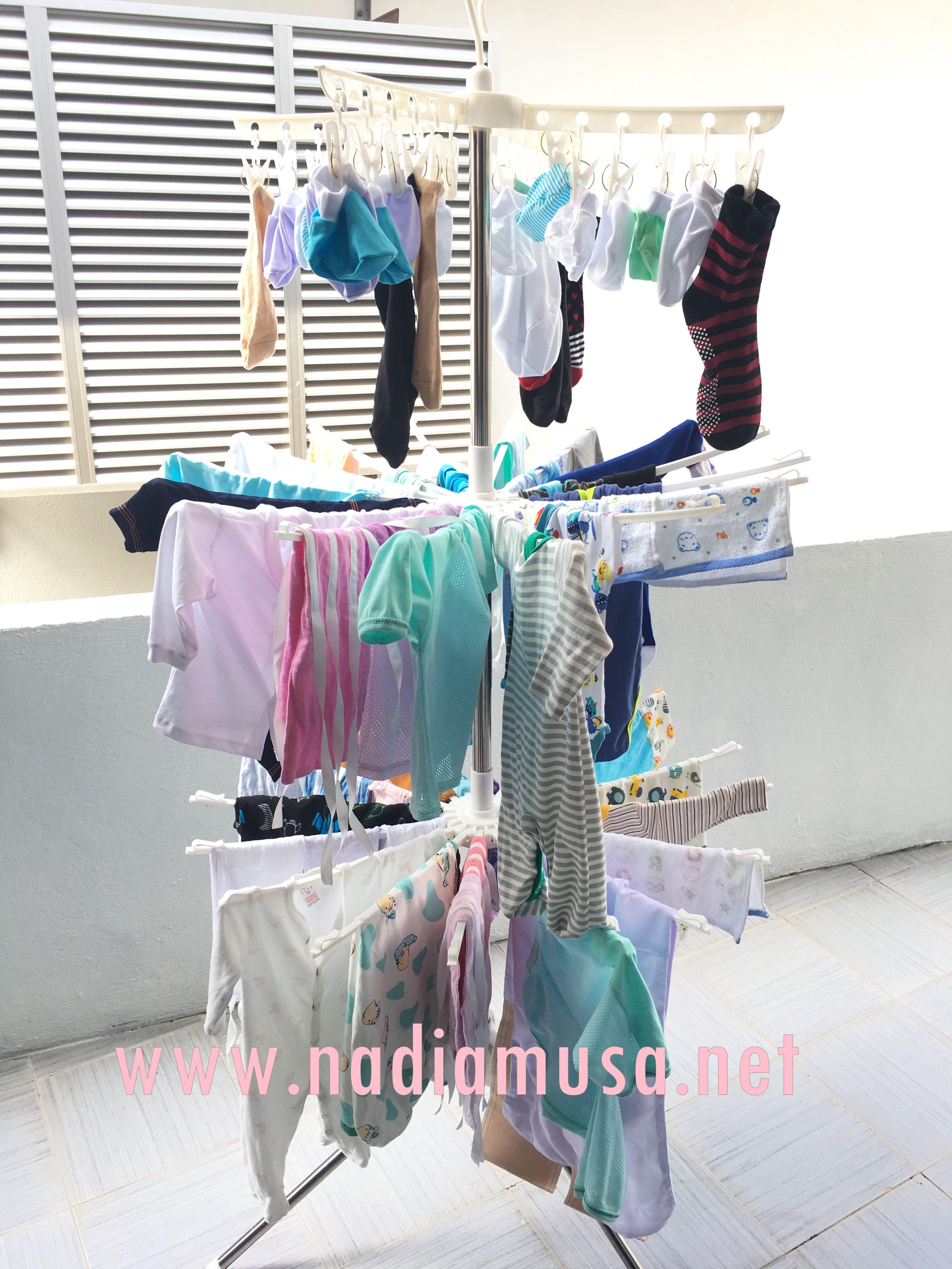 Keperluan Bayi Baru Lahir Nadia Musa