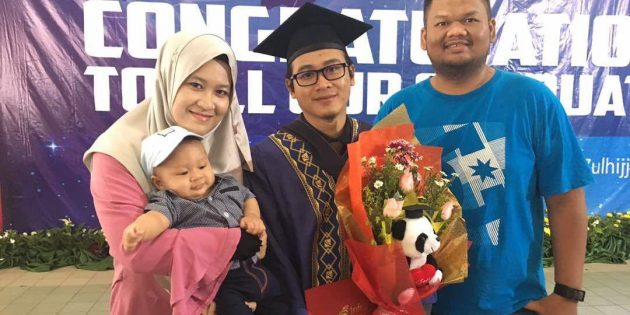 Convocation My Little Brother Muhammad Zufar