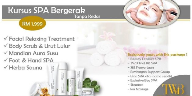 Kursus Spa The Walking Beauty 2018