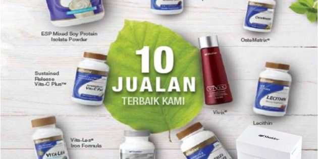 Top 10 Produk Shaklee (Best Seller)